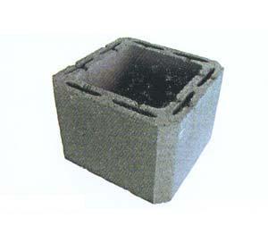 Blocchi in cemento per canna fumaria